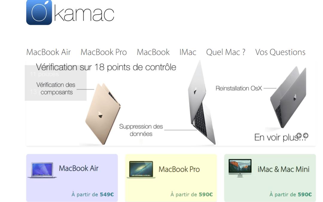 Okamac est il un site fiable pour acheter Imac et MacBook reconditionnés ? Notre avis